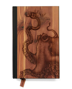 Laser Etched Cedar Journal