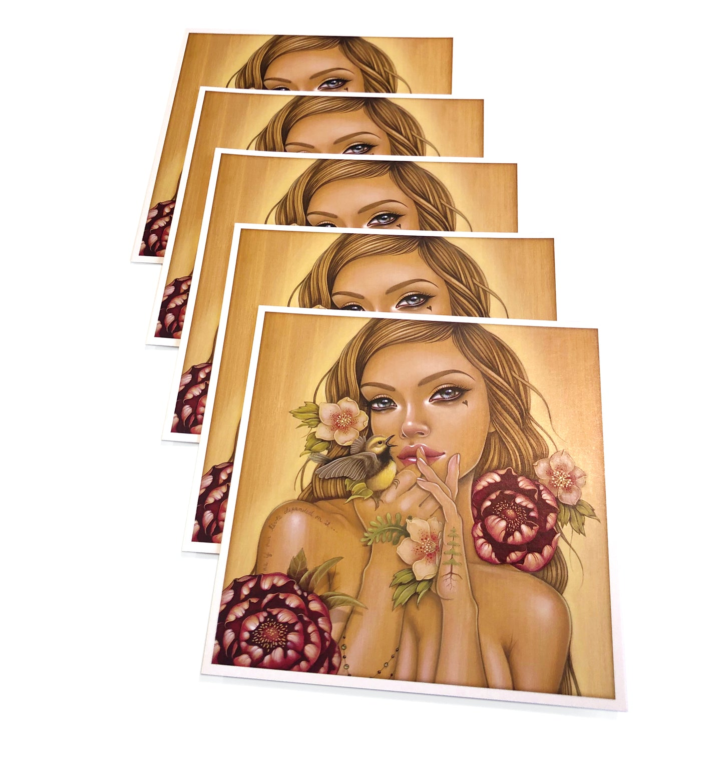 Gaia Reborn Note Cards