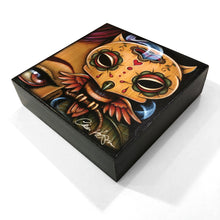 Load image into Gallery viewer, Owl Ghost Mini Wood Print