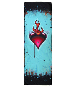 Heart Opener Yoga Towel