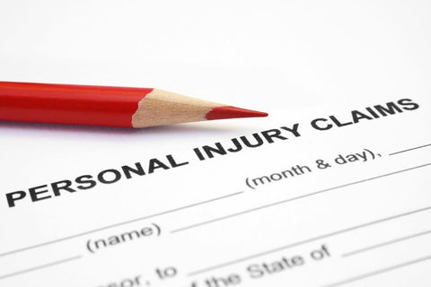 personal injury claim form | safety signs | shop now at The Sign Shed