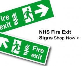 Shop For NHS Fire Exit Signs