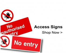 Shop For Construction Site Access Signs
