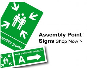 Shop For Fire Assembly Point Signs
