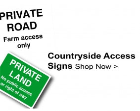 Shop For Countryside Access Signs