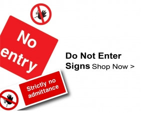 Shop For Do Not Enter Signs