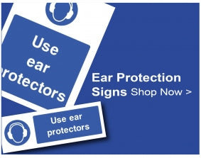 Shop For Ear Protection Signs