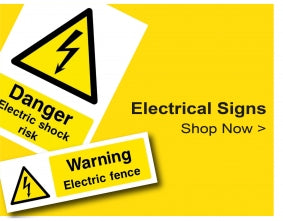 Shop For Electrical Signs