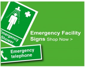 Shop For Emergency Facility Signs