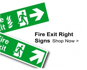 Shop For Fire Exit Signs With Right Arrows