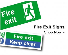 Shop For Fire Exit Signs