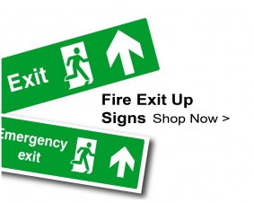 Shop For Fire Exit Signs With Up Arrows