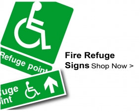 Shop For Fire Refuge Signs