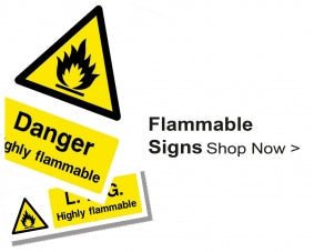 Shop For Flammable Warning Signs