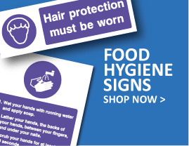 Food safety & hygiene signs
