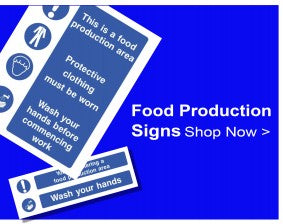 Shop For Food Production Signs