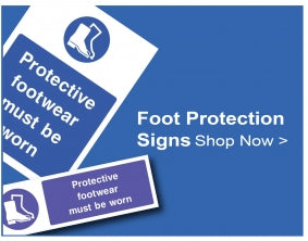 Shop For Foot Protection Signs