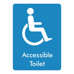 Download this Accessible Toilet sign for free here