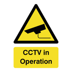 Download this free CCTV in Operation sign here | The Sign Shed