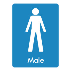 Download this free Male toilet sign here