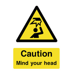 Download your free Mind Your Head Sign