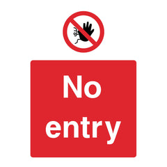 Download this No entry sign for free