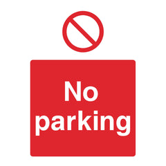 Download this No Parking sign for free
