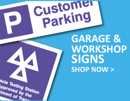 Garage & workshop Signs