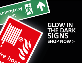 Glow In The Dark Fire Door Signs