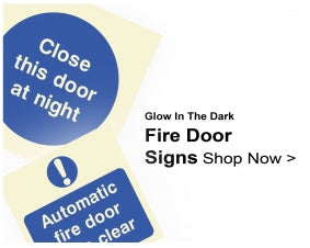 Shop For Glow In The Dark Fire Door Signs