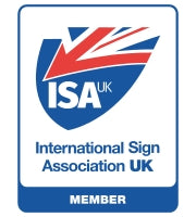 The Sign Shed is a member of the International Signs Association UK