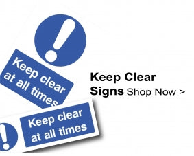 Shop For Keep Clear Signs