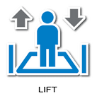 Lift Signs Icon