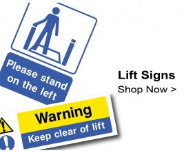 Shop For Lift & Escalator Signs