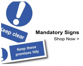 Shop For Mandatory Signs