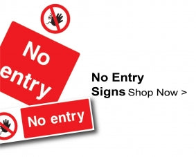 Shop For No Entry Signs