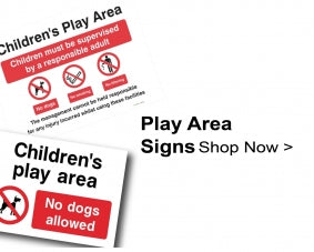 Shop For Parks & Play Area Signs
