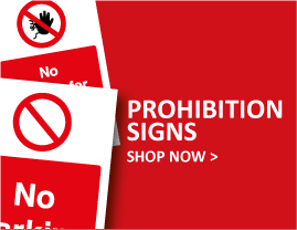 Prohibition Signs Explained | Shop at The Sign Shed