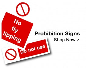 Shop For Prohibition Signs