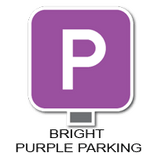 Bright Purple Parking