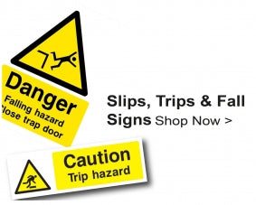 Shop For Slip Trip Fall Signs