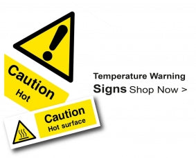 Shop For Temperature Warning Signs