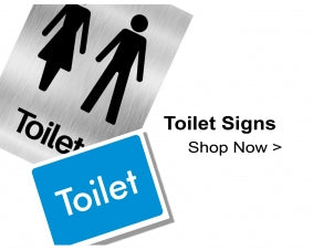 Shop For Toilet Door and Washroom Signs