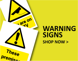 Warning Signs Explained | Shop at The Sign Shed
