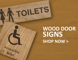Wood Door Signs