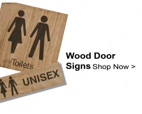 Shop For Wood Door Signs