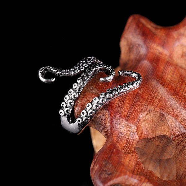 Adjustable Size Octopus Shape Ring