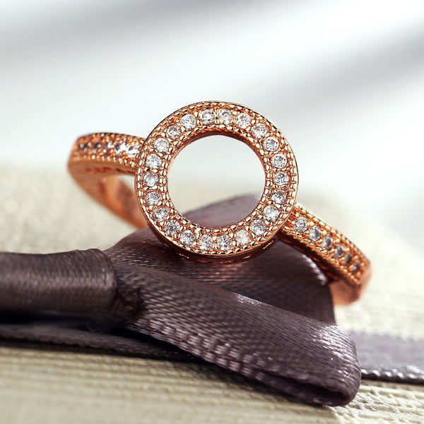 Gold Plated Round Ring