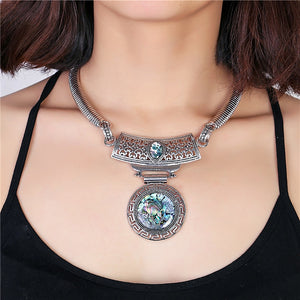 Abalone Shell Bohemian Style Necklace