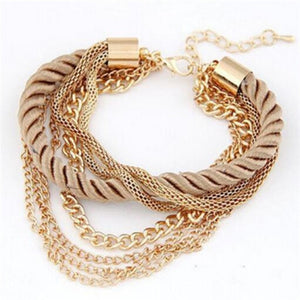 Charming Multi-layer Chain Bracelet